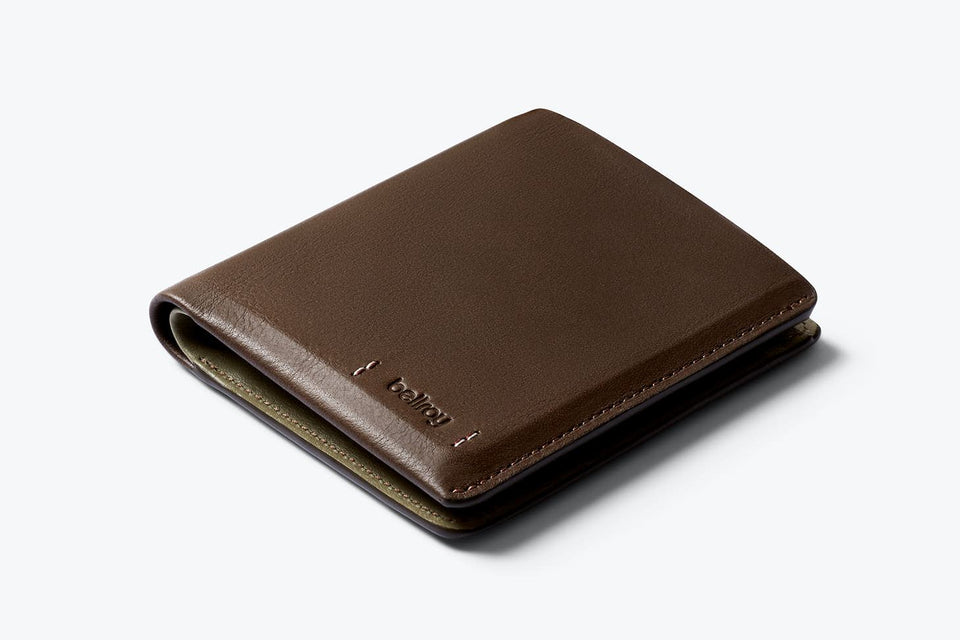 Bellroy Note Sleeve Premium Darkwood
