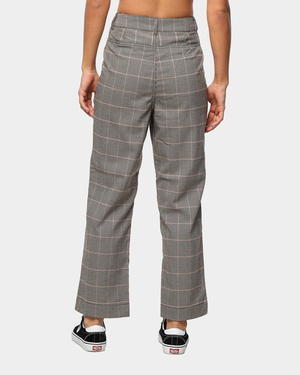 Stussy Orlando Fitted Check Pant Tan