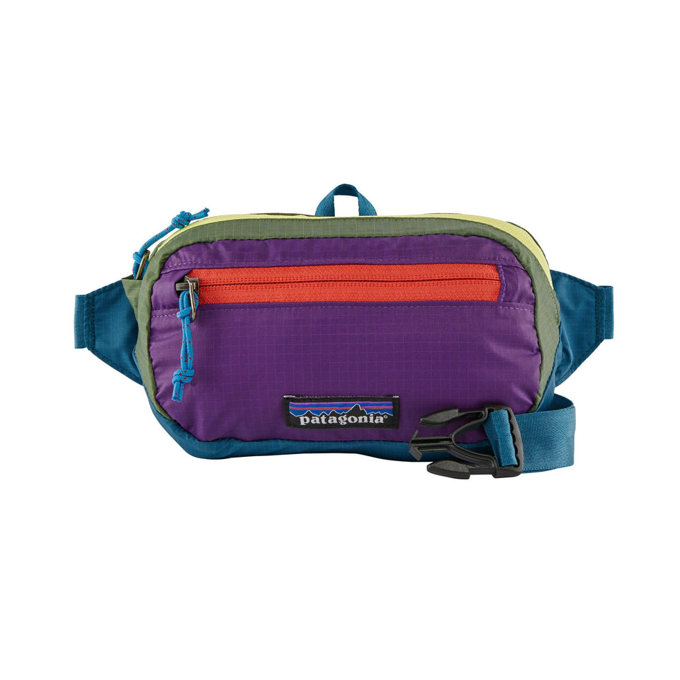 Patagonia Ultralight Blackhole Mini Hip Pack - Patchwork : Stella Blue