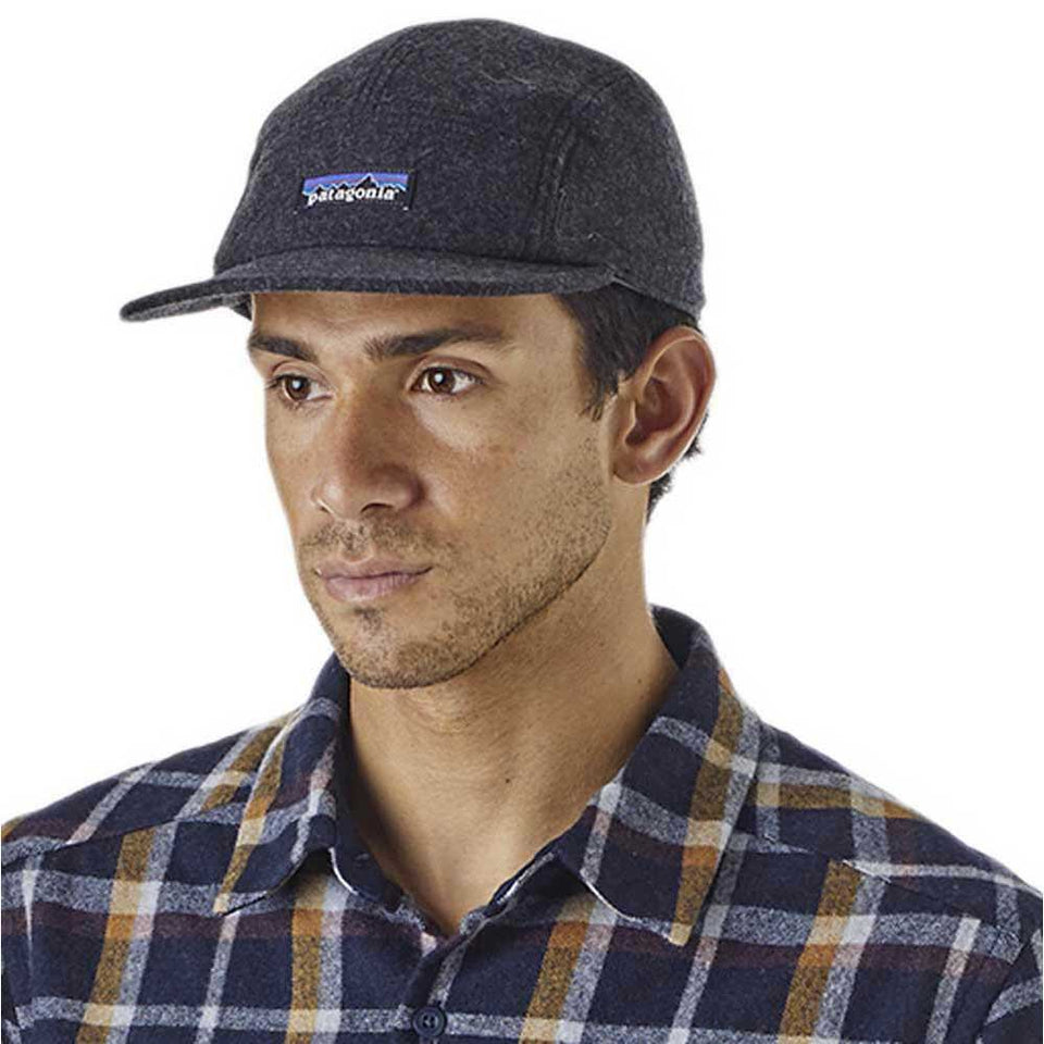 Patagonia Recycled Wool Cap forge Grey - Stencil