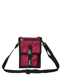 Stussy Design Corp Shoulder Bag Plum - Stencil