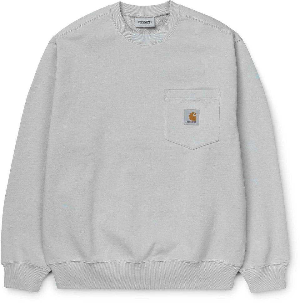 Carhartt Pocket Sweat Crew Ash Heather
