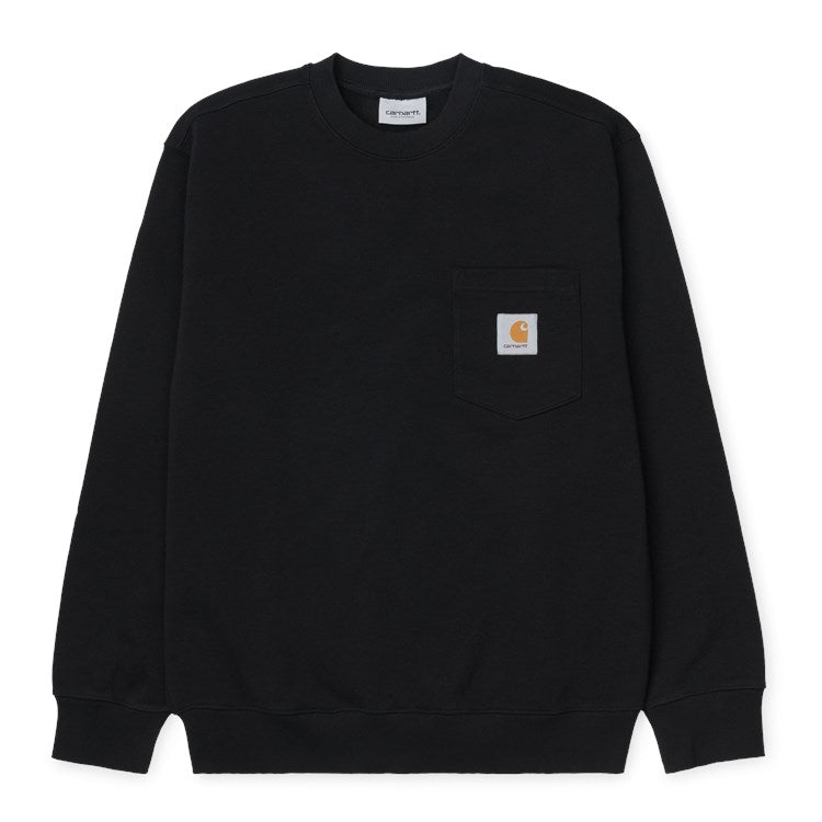 Carhartt Pocket Sweat Crew Black