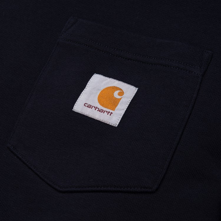 Carhartt Pocket Sweat Crew Dark Navy