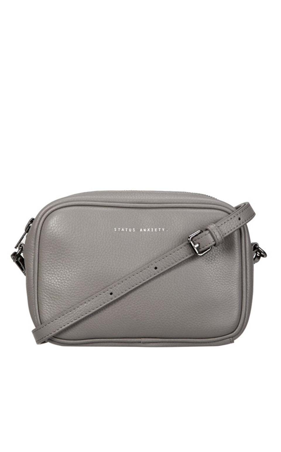 Status Anxiety Plunder Bag Light Grey - Stencil