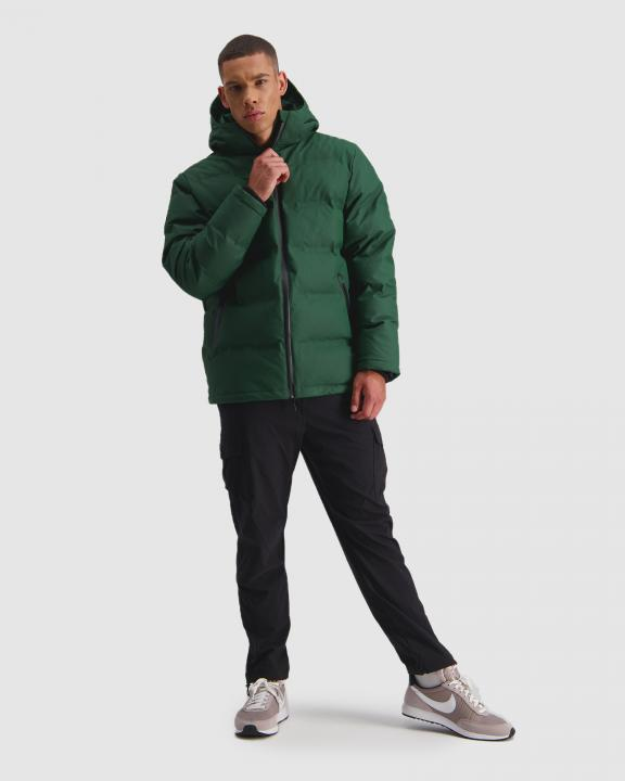 Huffer Superdown Jacket Racing Green - Stencil