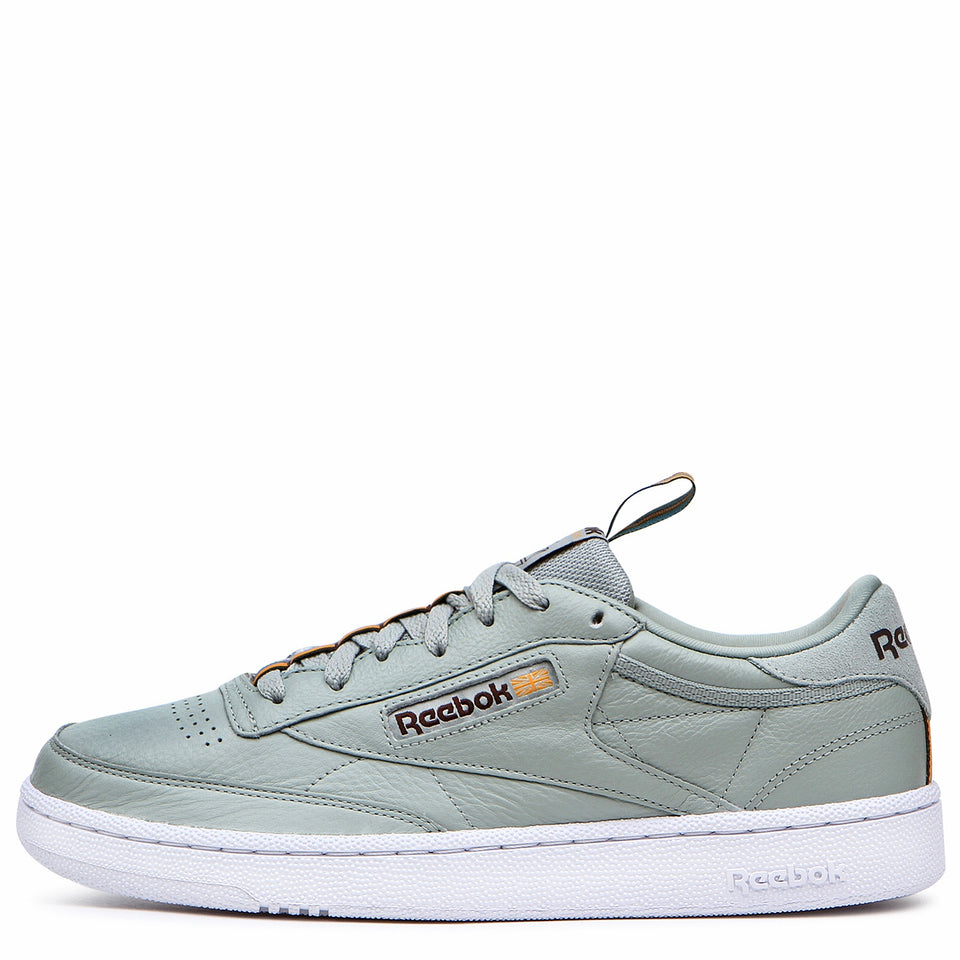 Reebok Club C 85 MU Sea Spray/White/Earth/Gold - Stencil
