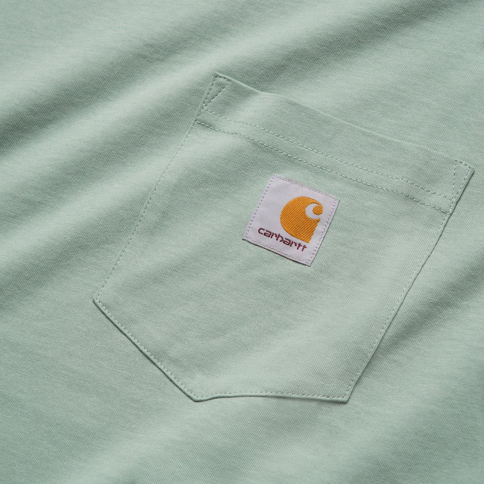 Carhartt S/S Pocket Tee Frosted Green