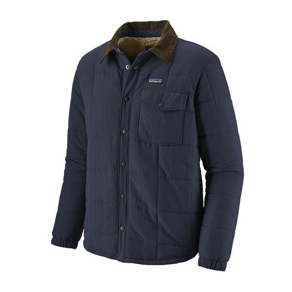 Patagonia Isthmus Quilted Shirt Jacket New Navy - Stencil