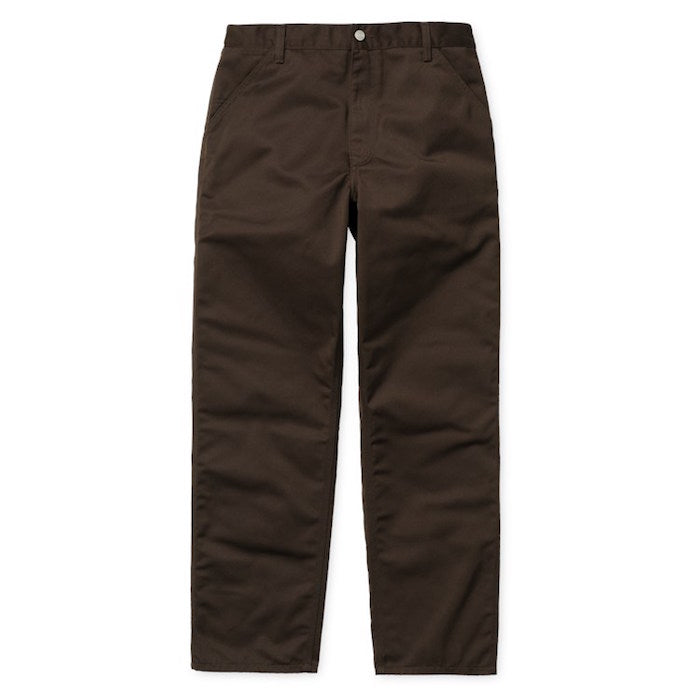Carhartt Simple Pant Tobacco Rinsed - Stencil