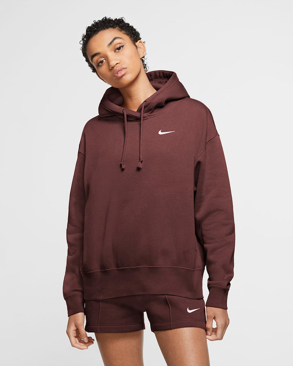 Nike Womens Fleece Hoodie - Dark Pony