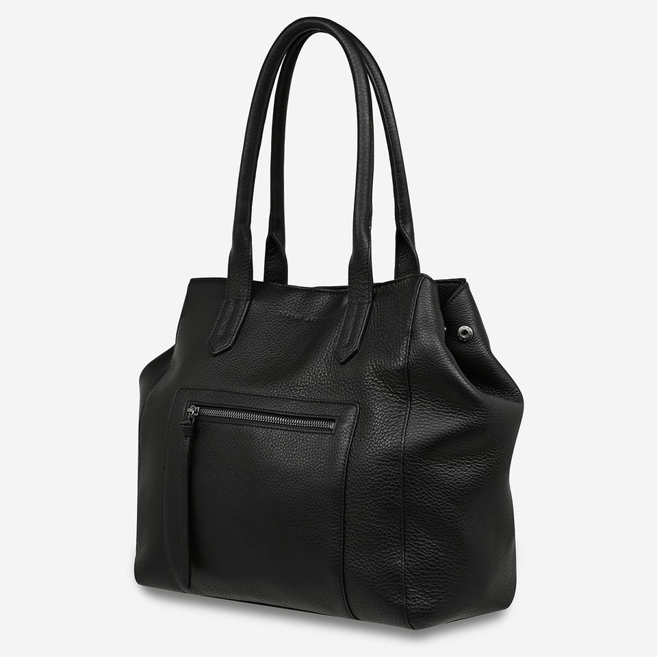 Status Anxiety Abandon Tote Black - Stencil