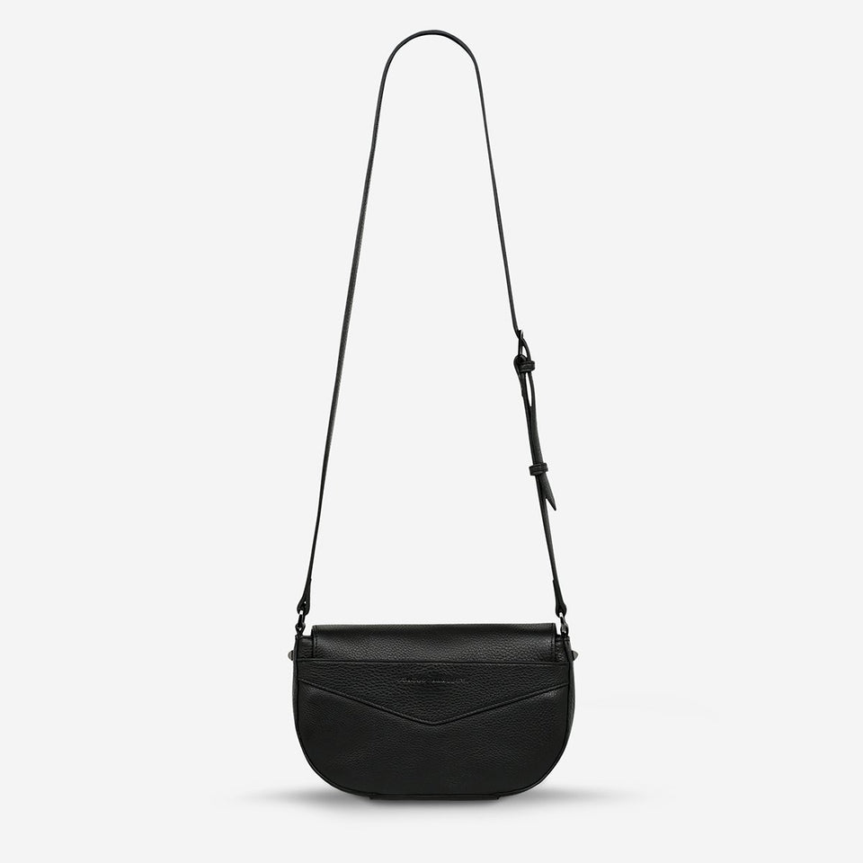 Status Anxiety Transitory Bag Black - Stencil