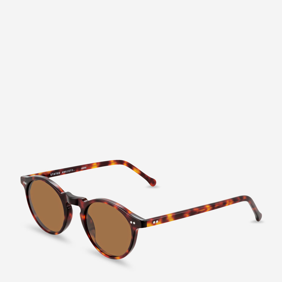 Status Anxiety Ascetic Sunglasses Brown Tort