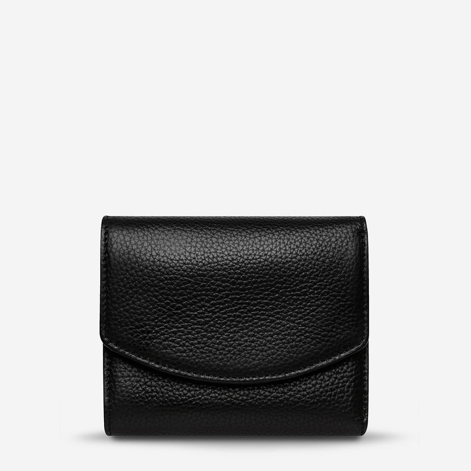 Status Anxiety Lucky Sometimes Wallet Black