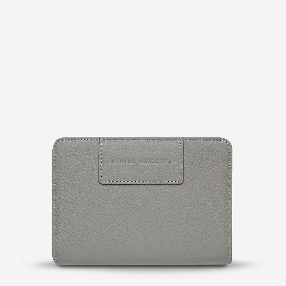 Status Anxiety Popular Problems Wallet Grey