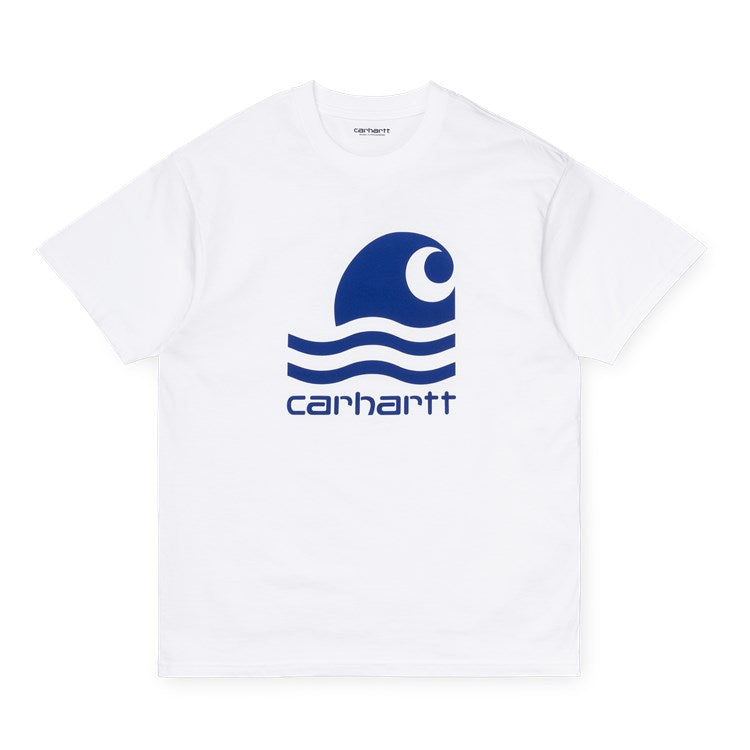 Carhartt S/S Swim T Shirt White / Submarine