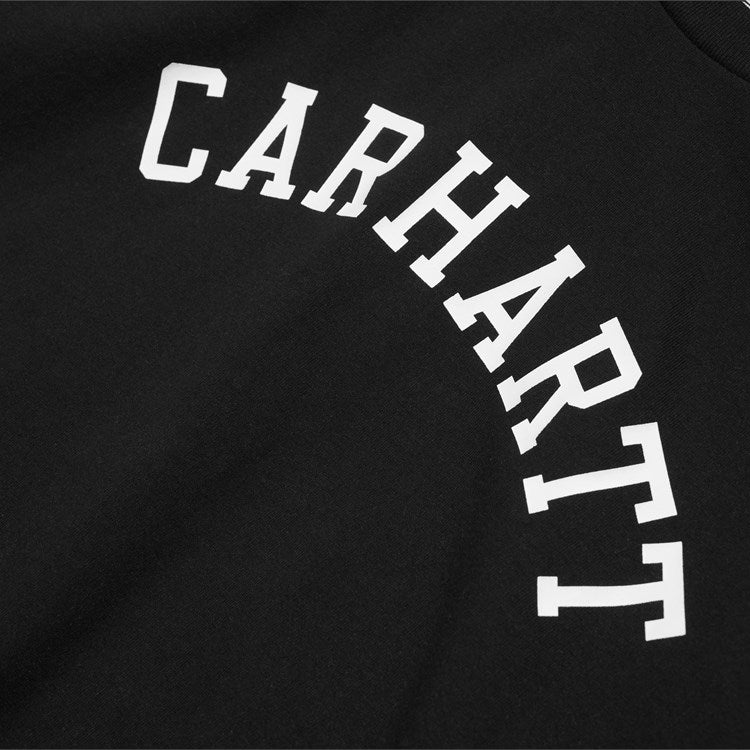 Carhartt S/S University Tee Shirt Black / White