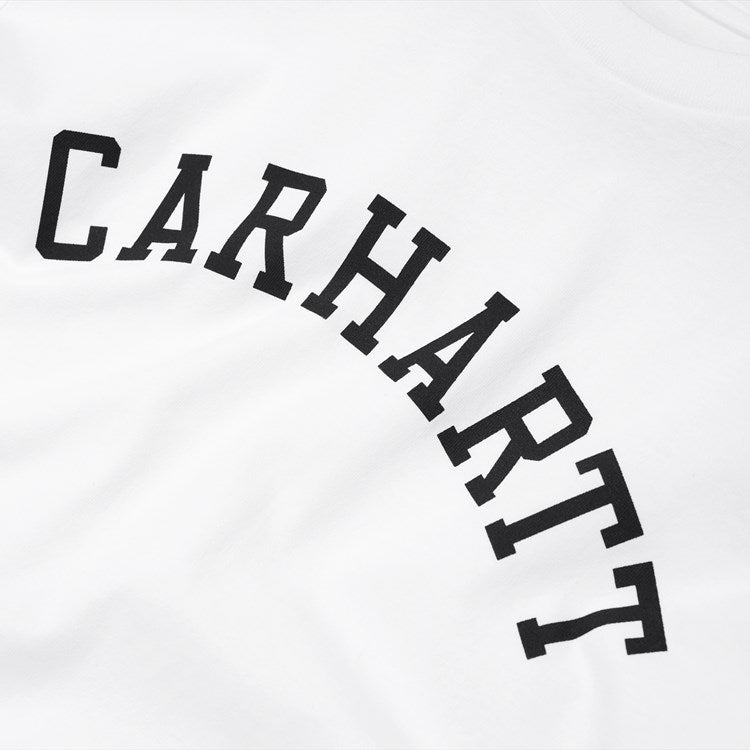 Carhartt S/S University Tee Shirt White / Black