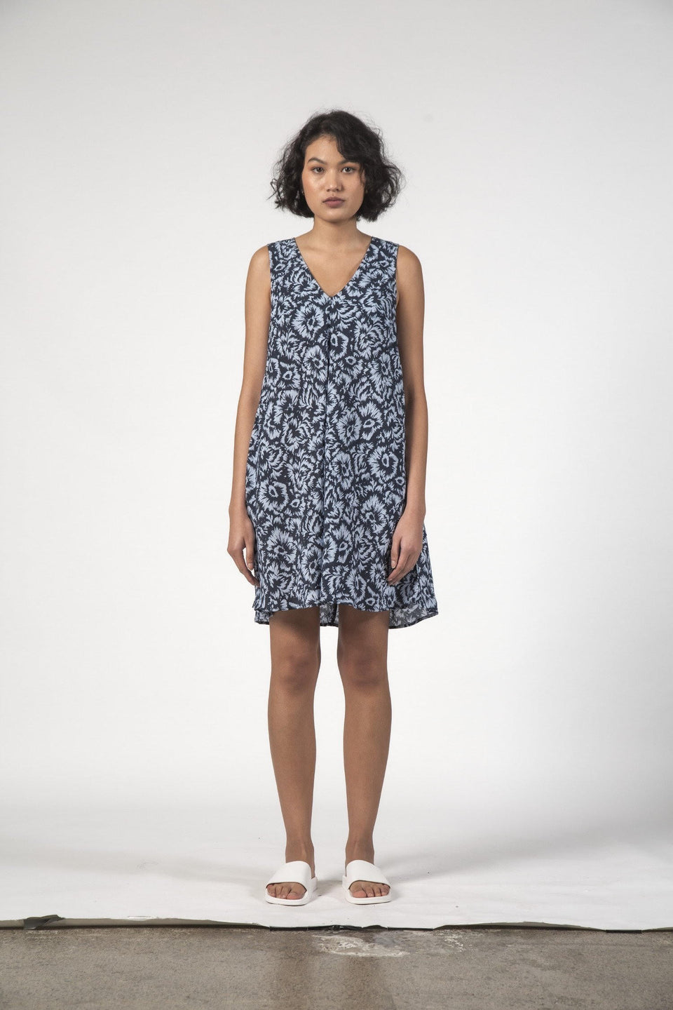 Thing Thing Estelle Dress Jagged Flower
