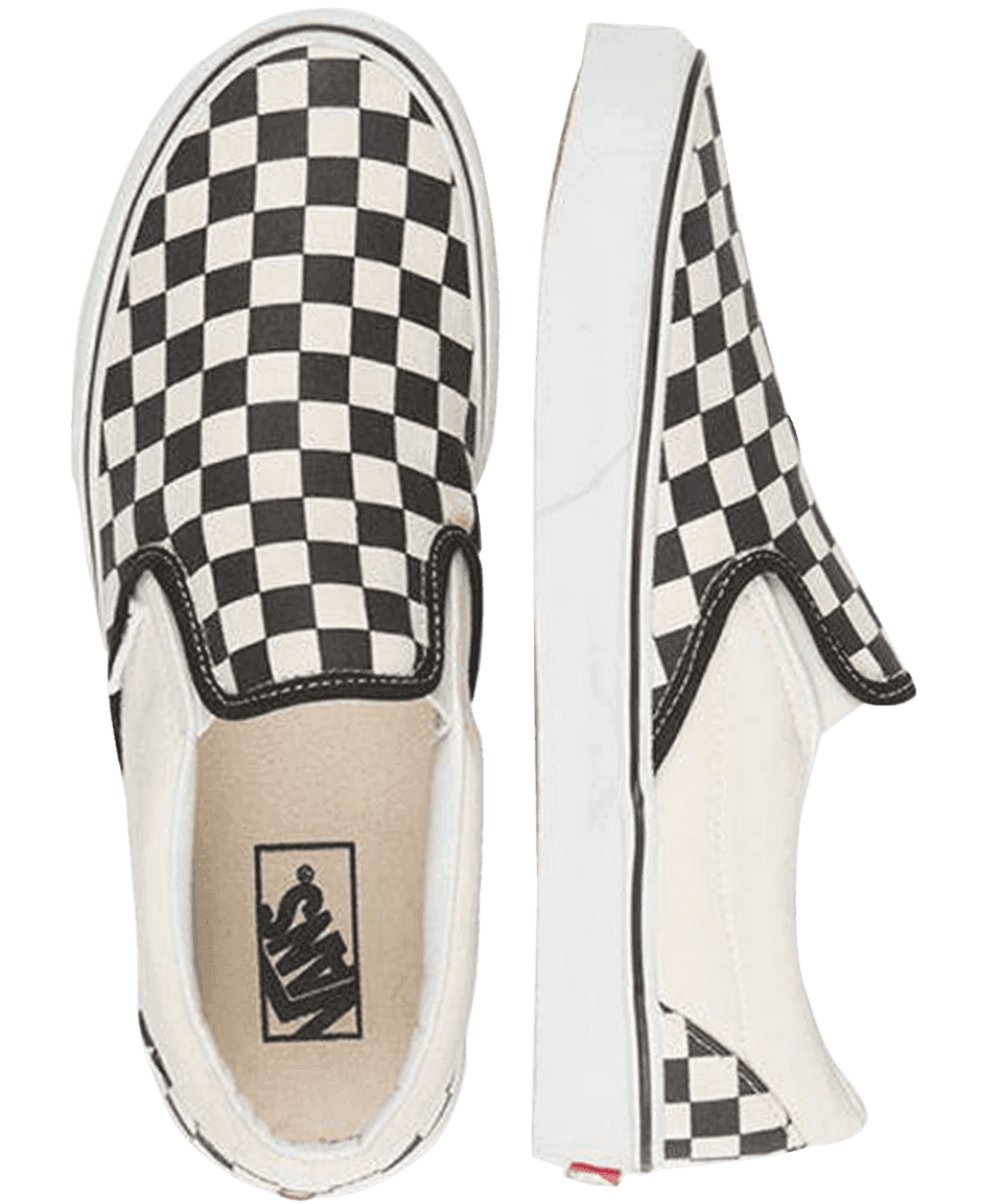 Vans CSO Checkerboard Black/White Checks - Stencil
