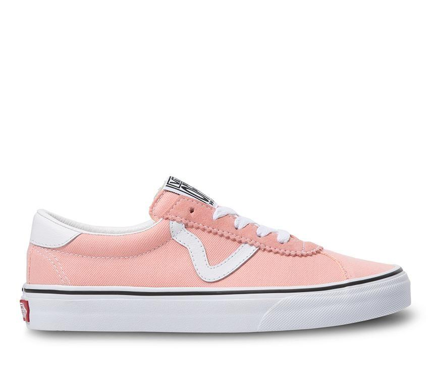 Vans Sport (Denim) Pink/True White
