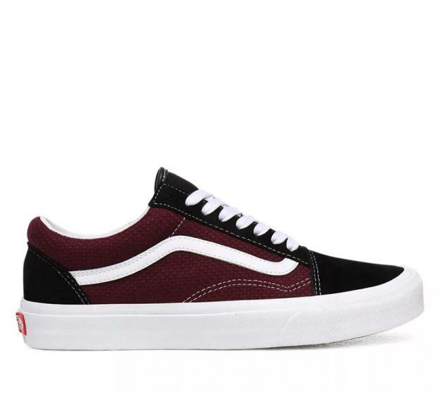 Vans Old Skool (P&C) Black/Port Royale