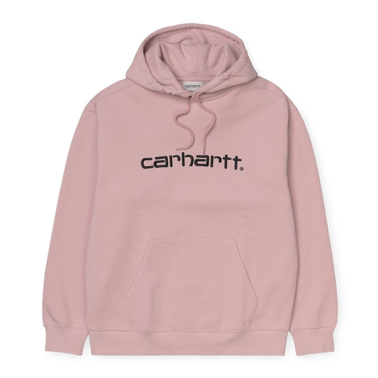 Carhartt W Hooded Carhartt Sweat Frosted Pink / Black