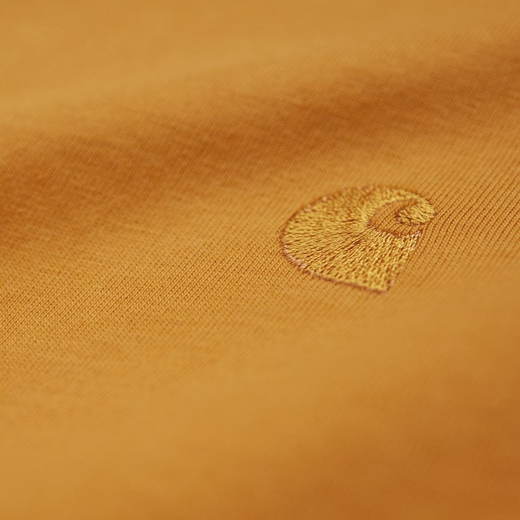 Carhartt Short Sleeve Chase T Shirt Winter Sun / Gold