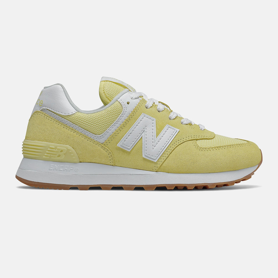 New Balance Women's 574 Lemon Haze