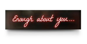 "David Drebin's ""Enough About You..."""