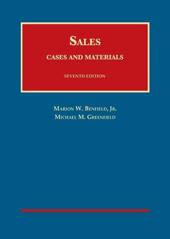 Cases and Materials on Sales (University Casebook Series)