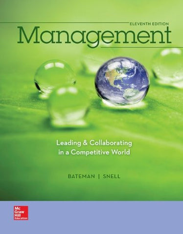 Management: Leading & Collaborating in a Competitive World (Irwin Management)