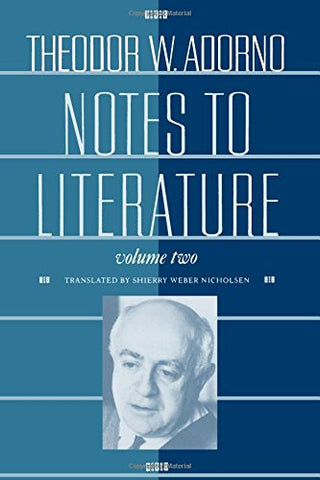 Notes to Literature, Volume 2