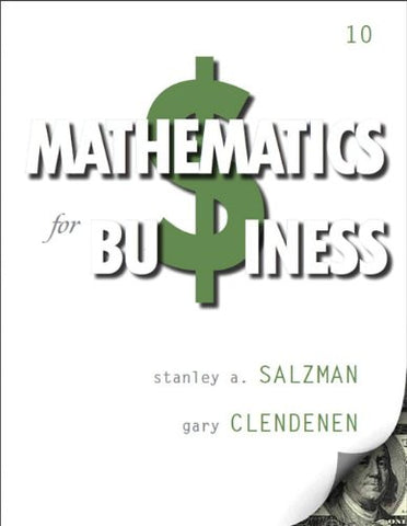 Mathematics for Business (10th Edition)