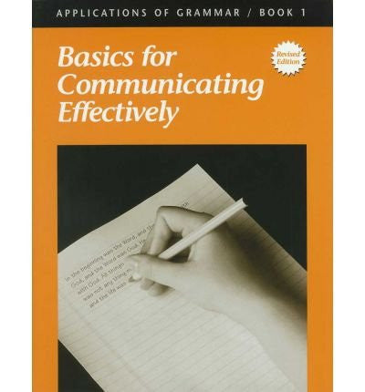 Applications of Grammar Book 1: Basics for Communicating Effectively (49615)