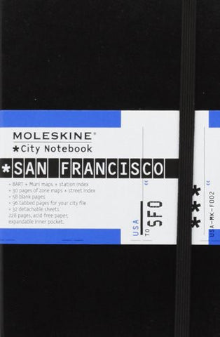 Moleskine City Notebook San Francisco