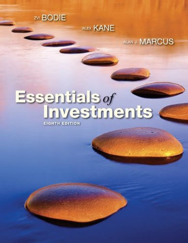 Essentials of Investments with S&P Card (The McGraw-Hill/Irwin Series in Finance, Insurance, and Real Estate)
