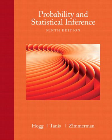 Probability and Statistical Inference (9th Edition)