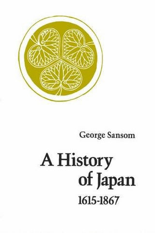 A History of Japan, 1615-1867