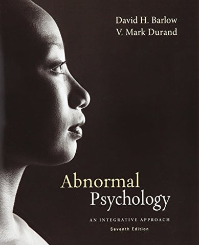Bundle: Cengage Advantage Books: Abnormal Psychology: An Integrative Approach, 7th + LMS Integrated for MindTap Psychology 2-Semester Printed Access Card