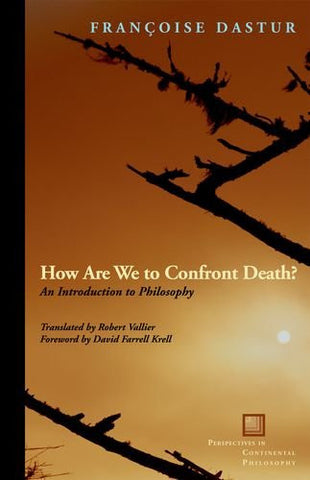 How Are We to Confront Death?: An Introduction to Philosophy (Perspectives in Continental Philosophy (FUP))