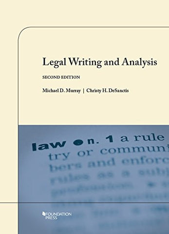 Legal Writing and Analysis (Coursebook)