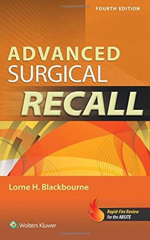 Advanced Surgical Recall, 4e (Recall Series)