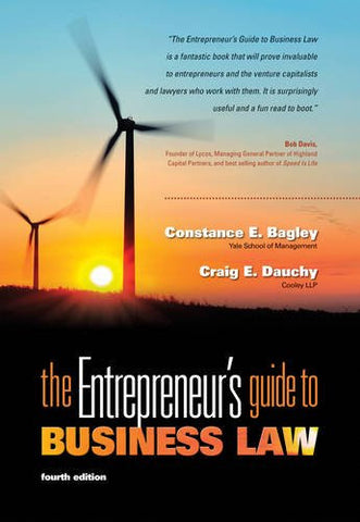 The Entrepreneur's Guide to Business Law, 4th Edition