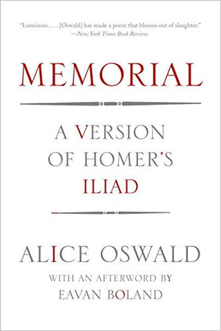 Memorial: A Version of Homer's Iliad