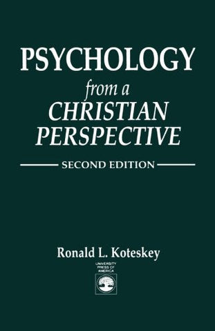 Psychology from a Christian Perspective