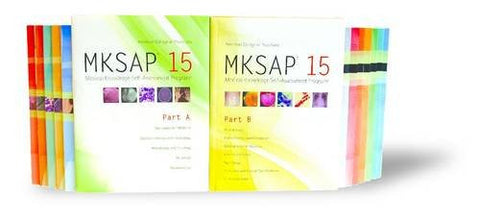 MKSAP 15: Medical Knowledge Self-Assessment Program, Parts A & B (Package)
