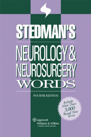 Stedman's Neurology & Neurosurgery Words (Stedman's Word Books)