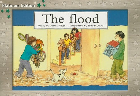 Rigby PM Platinum Collection: Individual Student Edition Green (Levels 12-14) The Flood